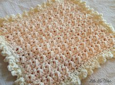 Little Miss Stitcher: Delightful Dishcloth Crochet Free Pattern