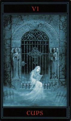 The Gothic Tarot: Six of Cups