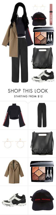 """sunhye 33"" by sunhye-cdxcv on Polyvore featuring moda, Boutique, Gucci, Muller of Yoshiokubo, Victoria's Secret, Christian Dior, Chanel y Vetements"
