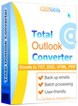 Total Outlook Converter 4.1 -  Want to archive Outlook emails and make them compatible with your electronic document system? Approaching your discovery deadline? Total Outlook Converter will help you to turn your emails into PDF or Doc files with proper page counters, date stamps or image watermarks (i.e. your logo). The app... http://tvseriesfullepisodes.com/index.php/2016/04/17/total-outlook-converter-4-1/