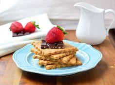 Gluten and Dairy Free Graham Crackers