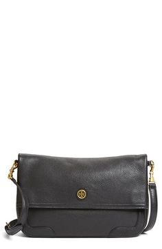 Love this but in the Bark color Tory Burch 'Frances' Leather Messenger Bag