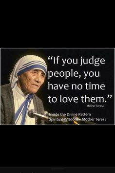 Mother Teresa ....... True Words of Love❤