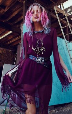 Purple | Gypsy | Wild Child. women's fashion and boho style.