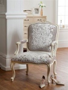The Boudoir Collection painted armchair