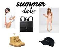 """Summer Date"" by sorcha-mcgann ❤ liked on Polyvore featuring Liquor n Poker, Atticus, Monki, NIKE, statefair and summerdate"