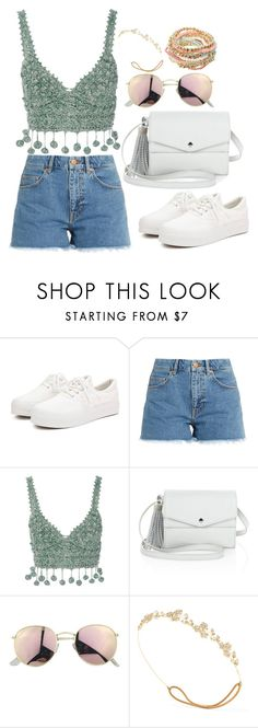 """""""Sin título #1212"""" by tamar4a ❤ liked on Polyvore featuring M.i.h Jeans, Rosie Assoulin, Elizabeth and James, Jennifer Behr and Call it SPRING"""