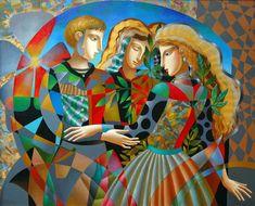 Mirando al mundo con sentimientos: El colorido arte de Oleg Zhivetin