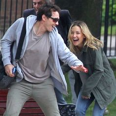 Pin for Later: James Franco and Kate Hudson Make a Scorchingly Sexy Couple