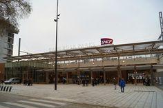 Rosa Parks train station, Paris