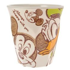 Mickey & Donald Cup Disney Store Japan