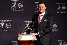 """Tim Tebow tweet """"Congrats (Johnny Manziel) for winning the Heisman! You had a great season and it was well deserved. God bless & keep representing the faith."""" December 8, 2012)  (to see JManziel story click photo)"""