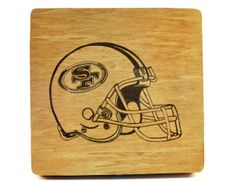 San Francisco 49ers wood burned box  I can add your favorite sports team!  socalwoodwork.com