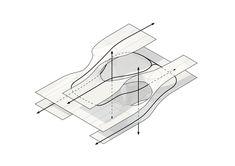 How to create perfect architecture portfolio Architecture Concept Diagram, Architecture Graphics, Architecture Drawings, Architecture Plan, Parti Diagram, Parametric Design, 3d Models, Planer, Urban Design