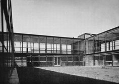 alison and peter smithson - secondary modern school, hunstanton, norfolk, england, 1954