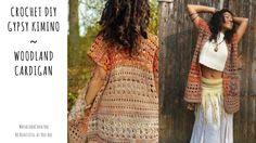 Easy Crochet Sweater/ Crochet DIY Kimino/ Crochet Cardigan for beginners...