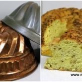 Gâteau de Savoie au comté et au cumin