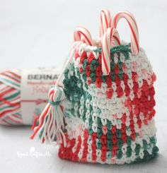 Crochet Planned Pooling Pouch - Repeat Crafter Me