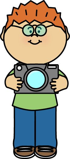 FREE Boy holding a camera by MyCuteGraphics