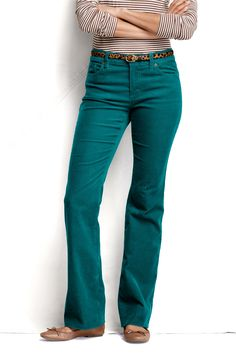 ef08c07847673 Women s Fit 2 Corduroy Boot-cut Pants from Lands  End. I always want to  look good in cords. it rarely happens.
