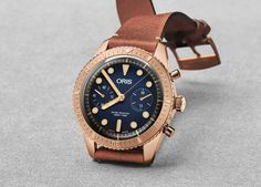 By Jovan Krstevski  Oris dedicates this watch to Carl Brashear, US Navy's first African American Master Diver who was also an amputee. If by chance you don't know the man, his life was remembered in the movie