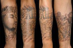 ジーザス|キリストのモチーフをデザインしたタトゥー|刺青作品画像です。  Religious Jesus Tattoo  東京|TOKYO|渋谷のタトゥースタジオ  TIFANA TATTOO[ティファナタトゥー] http://www.tifanatattoo.com/