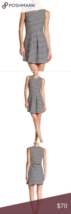 🌼 Madewell Stripped Dress Madewell Stripped dress NEW WITH TAGS NEVER WORN Madewell Dresses Mini