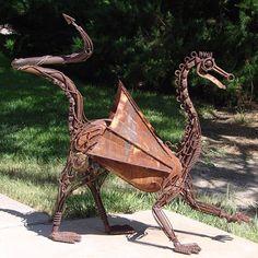 Skulptur Drache