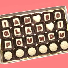 I Love Your Face Chocolate Message Anniversary Gift Boyfriend Gift