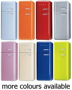 Smeg FAB30 Retro 50's Style Fridge Freezer