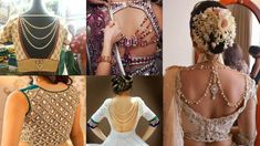 Jeweled Back Neck Blouse Designs Cinema Actress, Blouse Neck Designs, Indian Actresses, Sexy Bikini, Photo Galleries, Clothes For Women, Formal Dresses, Lady, Model