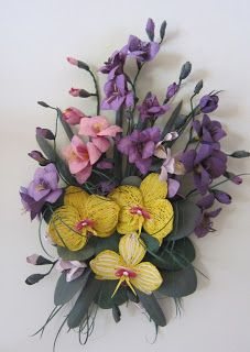 182 Best Orchid Quilled Images Quilling Flowers Quilling Orchids