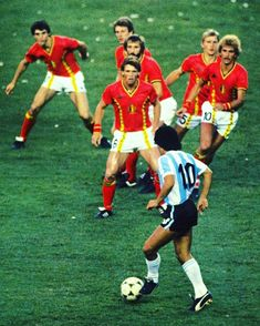 3227ae36d Do you wanna go bowling   Maradona dancing with 7  Belgium players in the