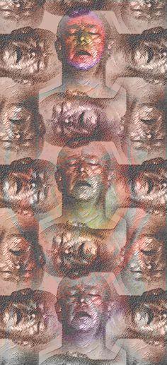 Donald Bruce Edward Wilson - Artist -Vancouver, BC Canada - Contemplations of Ecstasy - self portrait