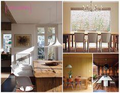 Inspiração sala de jantar #jantar #mesa #diningroom #madeira