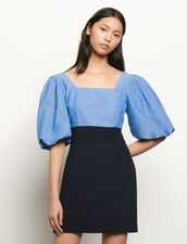 Sandro May. Sandro Paris, Models, Men's Collection, Mannequin, Short Dresses, Bell Sleeve Top, Neckline, Couture, My Style
