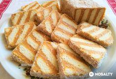 Creative Cakes, Creative Food, Hungarian Desserts, Cookie Recipes, Dessert Recipes, Sweet Cakes, Dessert Bars, No Bake Cake, Sweet Recipes