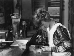 Ruth Colvin Starrett McGuire (1893-1950), a plant pathologist at the U.S. Department of Agriculture's Bureau of Plant Industry.