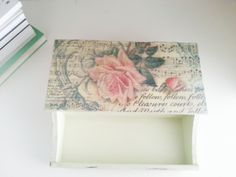 Handmade decorations - Shabby Rose Box https://www.facebook.com/Milkwhoney