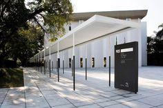 Fachada do Museu da Imagem e do Som (MIS) de São Paulo (SP)