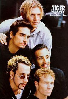 Used to loveee the Backstreet Boys