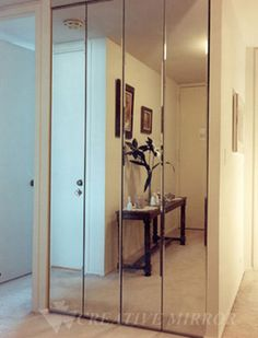 Nice Mirrored Bifold Closet Doors Are Great Inventions For Those Who Want .