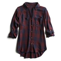My closet is missing a GOOD plaid fall button up. The one I have, the sleeves are too short and the material is thin.