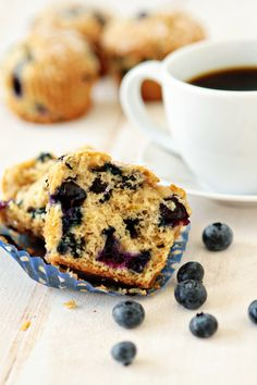 Blueberry-Lime Muffins - had lemon blueberry muffins before, bet this would be good too