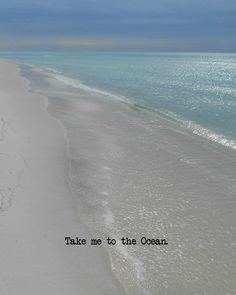 Take me to the ocean I would like to feel the sand in between my toes Ocean Beach, Beach Bum, Ocean Waves, Sunny Beach, Natural, Sand And Water, I Love The Beach, Beach Quotes, Ocean Life