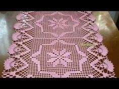 😍 CAMINHO DE MESA EM CROCHÊ. CRÉDITO ÀS ARTESÃS - YouTube Filet Crochet, Crochet Top, Crochet Patterns, Make It Yourself, Sewing, Blog, Free, Youtube, Crochet Table Runner