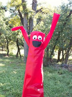 Inflatable Tube People Costume DIY