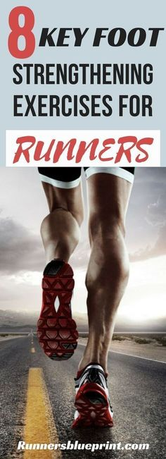 most strength-conscious runners overlook the importance of good foot strength training. This routine will definitely help you improve your foundation of intrinsic foot strength. 8 Essential Foot Strengthening Exercises For Runners Benefits Of Strength Training, Strength Training For Beginners, Strength Training For Runners, Flexibility Workout, Strength Workout, Strength Exercises For Runners, Calf Exercises, Calf Stretches, Half Marathon Training