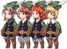 Final Fantasy III/Characters - All The Tropes