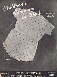 Vintage Crochet Knitting Patterns Baby Girl Boys Toddler 60s Sweaters Layettes | eBay